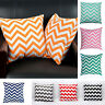 Fashion Waved Stripes Cotton Cushion Throw Pillow Case Covers Home Decor New Hot
