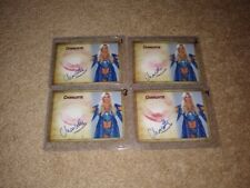 CHARLOTTE FLAIR AUTOGRAPH SIGNED KISS PRINT CARD WWE SUPERSTAR DIVA A #2