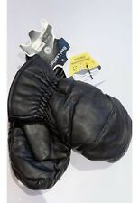Unisex Winter Waterproof Leather Motorcycle Mittens Lined With Hipora NWT S M Xl