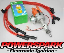 Ford Pinto electronic distributor OHC 4 cyl engine with 8mm Leads & Sports Coil