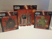 Darth Vader & Yoda Pumpkin Decorating Kits And Pumpkin Carving Kit