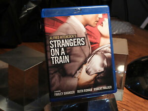 Strangers on a Train (Blu-ray, 2016) 1953 Robert Walker, Dir: Alfred Hitchcock