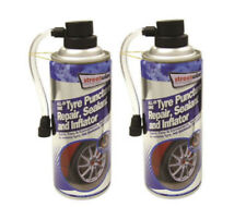 Tyre Sealer All-In-One Puncture Repair, Sealant and Inflator 450ml x2 streetwize