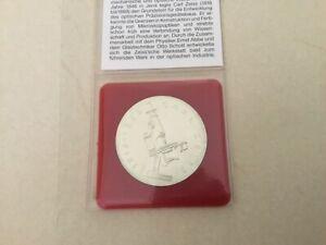 20 Mark Münze DDR, 1988, Silber, Carl Zeiss aus privater Sammlung