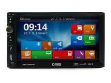 "Autoradio 2 Din 7"" Touch Navigatore GPS USB SD Mp3 Mpeg4 DivX Bluetooth NO DVD"