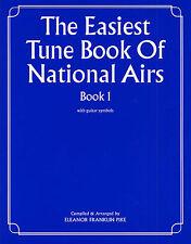 Plus facile Tunes national airs apprendre à jouer la guitare piano facile prendre livre de musique 1
