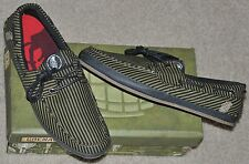 Grenade Layback Loafers / Boat Shoes Sz 10 Brand New with Original Box