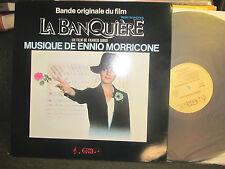Ennio Morricone La Banquiere OST nm LP gatefold '80 france soundtrack orig rare