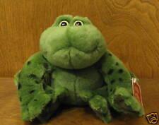 """Gund Beatrix Potter Plush #6106 JEREMIAH, 8"""" plush frog, mint/tags, Croaks"""