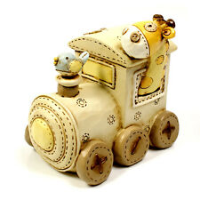 Baby Gift Noah's Ark Resin Money Box - Train Gift CG232