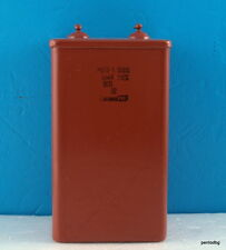PIO CAPACITOR  MBGP-1 10 uF 1000V   +/-10%  FOR POWER TUBE  AMPLIFIER USSR RARE