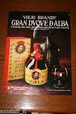 AZ8=1972=VIEJO BRANDY GRAN DUQUE D'ALBA=PUBBLICITA'=ADVERTISING=WERBUNG=