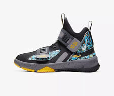 Nike LeBron Soldier 13 FlyEase (PS) Kids CQ4644-070 Black UK 10 Kids EU 27.5 New