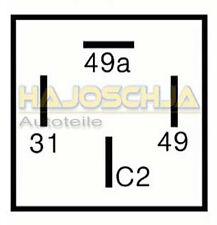 24 VOLT Relè frecce flash Relais con gancio traino CAMION x 2 + 1 (6) 21 WATT