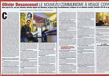 COUPURE DE PRESSE CLIPPING 2007 Olivier Besancenot  (2 pages)