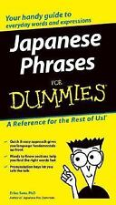 Japanese Phrases For Dummies-ExLibrary