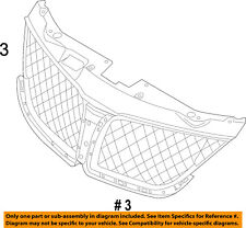 Lincoln FORD OEM 11-15 MKX Grille-Reinforcement BA1Z8A284A