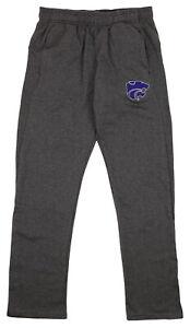 Outerstuff NCAA Men's Helix Track Pant, Kansas State Wildcats