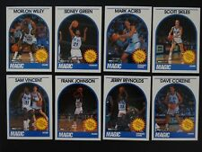 1989-90 Hoops Orlando Magic Partial Team Set Of 8 Basketball Cards Missing 5