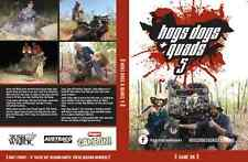 Hogs Dogs and Quads 5- - Pig Hunting DVD Boars Bush Hounds