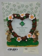 """Charming Tails Fitz Floyd: """"Love Expressions"""" 93/212 Photo Frame In Box"""