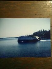 5 X 7 COLOR PRINT WASHINGTON STATE FERRY M.V. KALAKALA RICH PASSAGE WASHINGTON