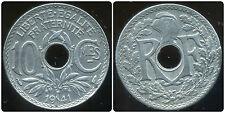 10 centimes LINDAUER  ZINC 1941 pas de points et   souligné  ( SUP )
