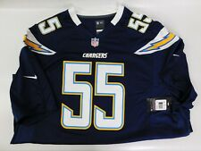 Nike Junior Seau San Diego Chargers #55  Jersey Men's 3XL New On The Field