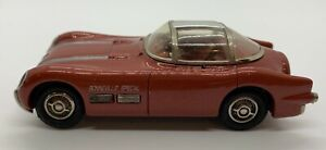 Highway Travelers 1:43 #106 1954 Pontiac Bonneville Concept Car Metallic Brown