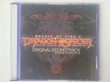 Breath of Fire V 5 Dragon Quarter 2-CD Video Game Original Soundtrack OST 48T
