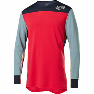 Fox Racing 2020 Defend Delta Long Sleeve L/S Jersey Bright Red