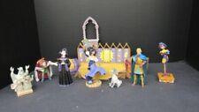 Disney Hunchback of Notre Dame Festival of Fools Complete Set Stage + 7 Figures