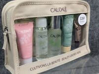 Caudalie Beauty Grows Here 5 Piece Travel Gift Set Zippered Bag - NEW Free Ship