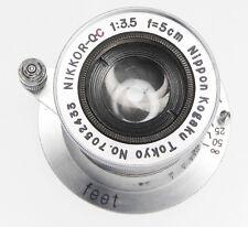 Nikkor Q.C 5cm f3.5 Coll. Leica SM  #7052433
