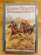 Pieter Maritz - Der Burensohn von Transvaal Aug. Niemann 1933 Südafrika Kolonie