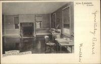 New London CT Nathan Hall School Interior c1905 Postcard