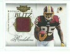 2011 Panini Plates and Patches Rookie Materials #33 Leonard Hankerson (re 59402