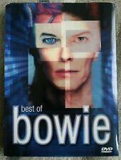 David Bowie - The Best Of Bowie (DVD, 2002, 2 Disc Set) + Easter Egg bonus list