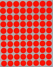 "Colored Dot Stickers Round circle Label 1/2"" Half Inch 1200 Pack by Royal Green"