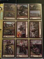 1992 Set Bikers of the Racing Scene Limited Edition Collector 1-34