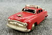 "VINTAGE 1950s TIN LITHO AIRPORT LIMO FRICTION CAR 5"" LONG MADE IN JAPAN NICE"