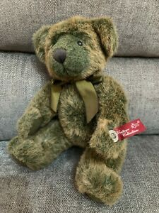 Russ Berrie Vintage Collection Bear Timperly Jointed Soft Toy 12""