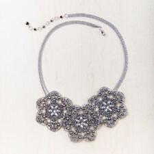 Silver Plated Bib Fashion Necklaces & Pendants
