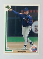 1991 91 Upper Deck Jeff Bagwell Rookie RC #755, Houston Astros, HOF