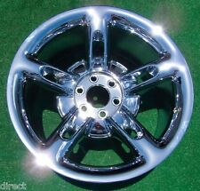 PERFECT New CHROME Genuine GM OEM Factory Chevrolet Chevy SSR 20 REAR WHEEL 5168