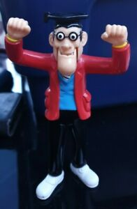 2000 Mcdonalds Happy Meal UK Beano Dennis Menace - TEACHER - Action Figure Toy