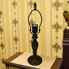 SMALL TABLE LAMP BASE STAND METAL HOLDER for 10 INCH TIFFANY LIGHT SHADE