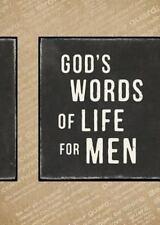 GOD'S WORDS OF LIFE FOR MEN - ZONDERVAN PUBLISHING HOUSE - NEW PAPERBACK BOOK