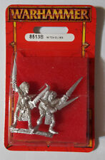 GW Warhammer Dark Elf Witch Elves 8513B 1997 Ver. 1 - METAL OOP MIB (2 models)
