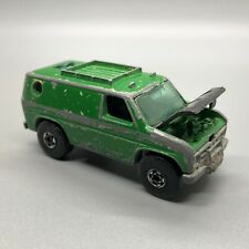 Hot Wheels BAJA BREAKER VAN Life Tour Hong Kong  HOOD OPENS 1977  Vintage GREEN